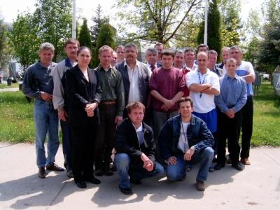 Hajdúszoboszló klórgáz és gépész csoport